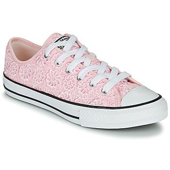 Cipők Gyerek Rövid szárú edzőcipők Converse CHUCK TAYLOR ALL STAR DAISY CROCHET Rózsaszín