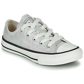 Cipők Gyerek Rövid szárú edzőcipők Converse CHUCK TAYLOR ALL STAR SUMMER SPARKLE Szürke