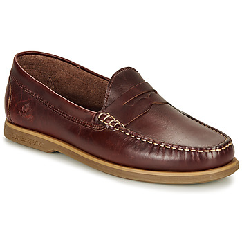 Cipők Férfi Mokkaszínek Lumberjack NAVIGATOR Barna