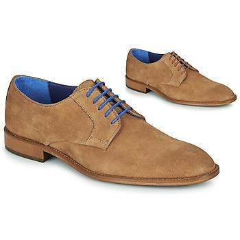 Cipők Férfi Oxford cipők Azzaro ZENOU Konyak