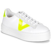Cipők Női Rövid szárú edzőcipők Victoria BARCELONA LONA Fehér