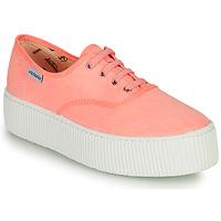 Cipők Női Rövid szárú edzőcipők Victoria DOBLE FLUO Korall