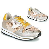 Cipők Női Rövid szárú edzőcipők Victoria COMETA SERPIENTE Bézs