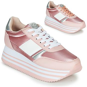 Cipők Női Rövid szárú edzőcipők Victoria COMETA DOBLE METAL Rózsaszín