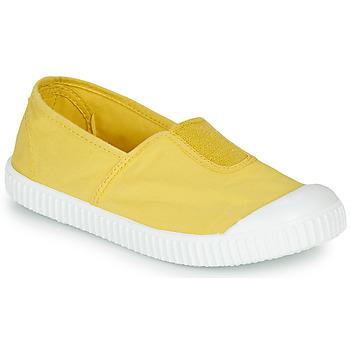Cipők Lány Rövid szárú edzőcipők Victoria CAMPING TINTADO Citromsárga