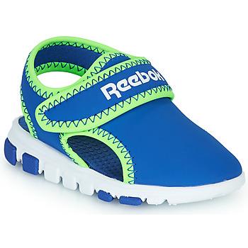 Cipők Fiú Szandálok / Saruk Reebok Sport WAVE GLIDER III Kék / Zöld