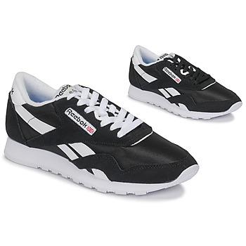 Cipők Rövid szárú edzőcipők Reebok Classic CL NYLON Fekete