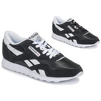 Cipők Női Rövid szárú edzőcipők Reebok Classic CL NYLON Fekete