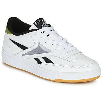 Cipők Női Rövid szárú edzőcipők Reebok Classic CLUB C REVENGE MARK Fehér / Arany