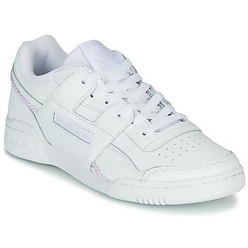 Cipők Női Rövid szárú edzőcipők Reebok Classic WORKOUT LO PLUS Fehér