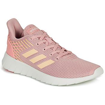 Cipők Női Futócipők adidas Performance ASWEERUN Rózsaszín