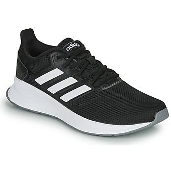 Cipők Női Futócipők adidas Performance RUNFALCON Fekete  / Fehér