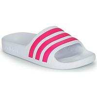Cipők Lány strandpapucsok adidas Performance ADILETTE AQUA K Fehér / Rózsaszín