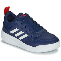Cipők Gyerek Rövid szárú edzőcipők adidas Performance TENSAUR K Kék / Fehér
