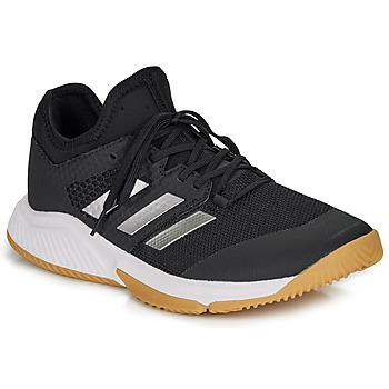 Cipők Férfi Fedett pályás sport adidas Performance COURT TEAM BOUNCE M Fekete  / Fehér
