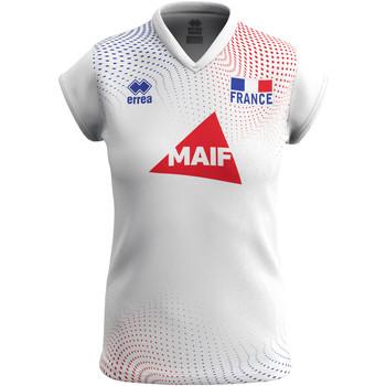 Ruhák Női Rövid ujjú pólók Errea Maillot femme extérieur Equipe de france 2020 blanc