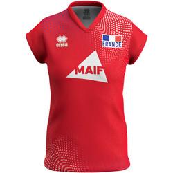 Ruhák Női Rövid ujjú pólók Errea Maillot femme third Equipe de france 2020 rouge