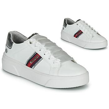 Cipők Női Rövid szárú edzőcipők Dockers by Gerli 46BK204-591 Fehér