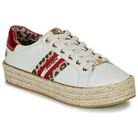 Cipők Női Rövid szárú edzőcipők Dockers by Gerli 46GV202-509 Fehér / Multi
