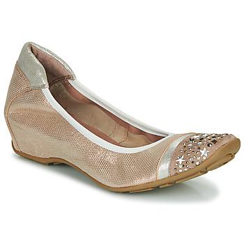 Cipők Női Balerina cipők  Mam'Zelle FETE Bőrszínű