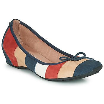 Cipők Női Balerina cipők  Mam'Zelle FLUTE Kék / Bézs / Bordó
