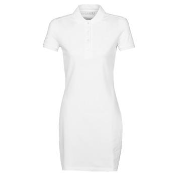 Ruhák Női Rövid ruhák Lacoste EUGENIE Fehér