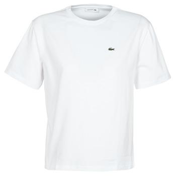 Ruhák Női Rövid ujjú pólók Lacoste BENOIT Fehér