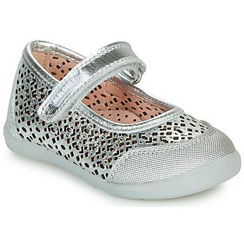 Cipők Lány Balerina cipők  Pablosky  Ezüst
