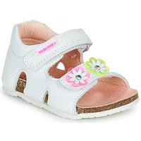 Cipők Lány Szandálok / Saruk Pablosky  Fehér