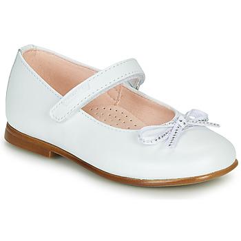 Cipők Lány Balerina cipők  Pablosky  Fehér