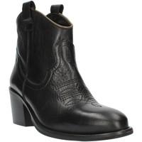 Cipők Női Bokacsizmák Exton MZ40 Black
