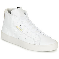 Cipők Női Rövid szárú edzőcipők adidas Originals adidas SLEEK MID W Fehér