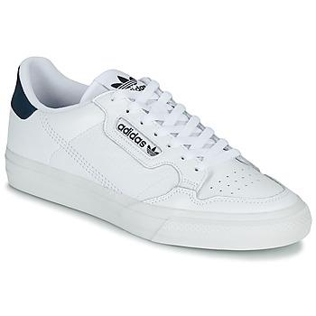 Cipők Rövid szárú edzőcipők adidas Originals CONTINENTAL VULC Fehér