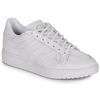 Cipők Rövid szárú edzőcipők adidas Originals MODERN 80 EUR COURT Fehér
