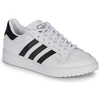 Cipők Rövid szárú edzőcipők adidas Originals MODERN 80 EUR COURT Fehér / Fekete