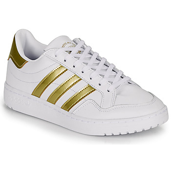 Cipők Női Rövid szárú edzőcipők adidas Originals MODERN 80 EUR COURT W Fehér / Arany