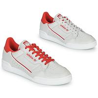 Cipők Rövid szárú edzőcipők adidas Originals CONTINENTAL 80 Bézs / Piros