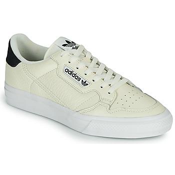 Cipők Rövid szárú edzőcipők adidas Originals CONTINENTAL VULC Bézs