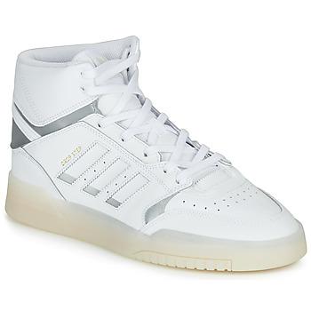 Cipők Férfi Magas szárú edzőcipők adidas Originals DROP STEP Fehér