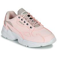 Cipők Női Rövid szárú edzőcipők adidas Originals FALCON W Rózsaszín