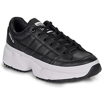 Cipők Női Rövid szárú edzőcipők adidas Originals KIELLOR W Fekete