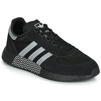 Cipők Rövid szárú edzőcipők adidas Originals MARATHON TECH Fekete  / Fehér