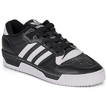 Cipők Férfi Rövid szárú edzőcipők adidas Originals RIVALRY LOW Fekete  / Fehér