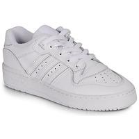 Cipők Női Rövid szárú edzőcipők adidas Originals RIVALRY LOW W Fehér