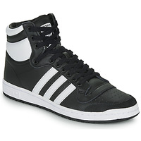 Cipők Magas szárú edzőcipők adidas Originals TOP TEN HI Fekete