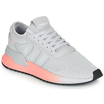 Cipők Női Rövid szárú edzőcipők adidas Originals U_PATH X W Szürke / Rózsaszín
