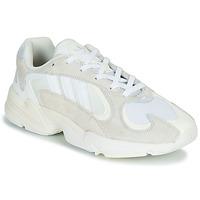 Cipők Férfi Rövid szárú edzőcipők adidas Originals YUNG 1 Fehér