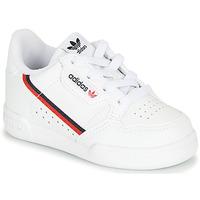 Cipők Gyerek Rövid szárú edzőcipők adidas Originals CONTINENTAL 80 I Fehér