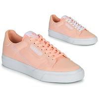 Cipők Lány Rövid szárú edzőcipők adidas Originals CONTINENTAL VULC J Rózsaszín