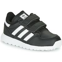 Cipők Gyerek Rövid szárú edzőcipők adidas Originals FOREST GROVE CF I Fekete